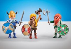 Playmobil  9893 - 3 Vikingen
