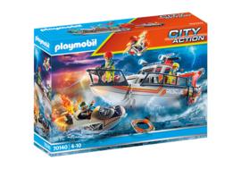 Playmobil 70140 - Reddingsboot met raceboot