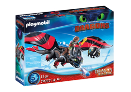 Playmobil 70727 - Dragon racing: Hikkie & Tandloos