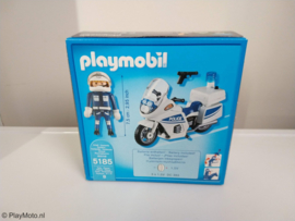 Playmobil 5185 - Politiemotor met zwaailicht