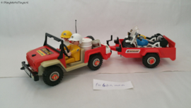 Playmobil 3478 - Racemotor transport, 2ehands