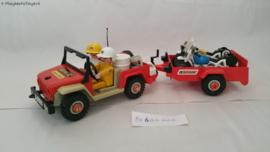 Playmobil 3478 - Racemotor transport, 2ehands