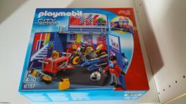 Playmobil 6157 - Mijn geheime motor werkplaats - Play Box -  MISB