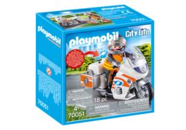 Playmobil 70051 - Spoedarts op de motor