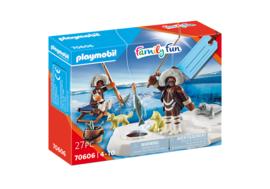 Playmobil 70606 - Kado set IJs vissers