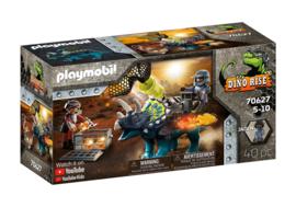 Playmobil 70627 - Triceratops: Strijd om de Legendarische Stenen