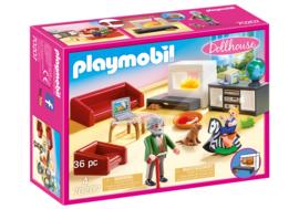 Playmobil 70207 - Huiskamer met openhaard
