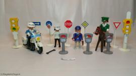 Playmobil 3489 - Verkeerspolitie set, gebruikt