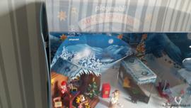 Playmobil 4161 Advent Calendar 'Christmas Post Office' // GROTE Display
