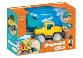 Playmobil 9145 - Graafmachine met schep