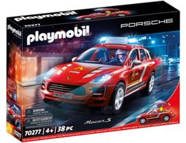 Playmobil 70277 - Porsche Macan S Brandweerauto met licht&geluid
