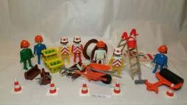 Playmobil 3400 - Bouwvakkers, gebruikt