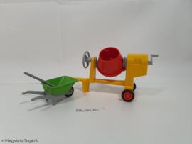 Playmobil 7140 - Cementmixer met kruiwagen,  2ehands