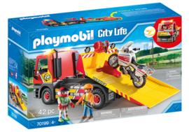 Playmobil 70199 - Sleepwagen met motor