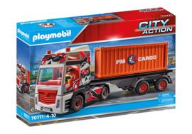 Playmobil 70771 - Truck met aanhanger