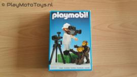 Playmobil 3364 - Fotograaf met Chimpansees, gebruikt met doos