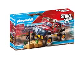 Playmobil 70549 - Stuntshow Monster Truck Horned