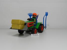 Playmobil 4143 - Multifunctionele Tractor, gebruikt