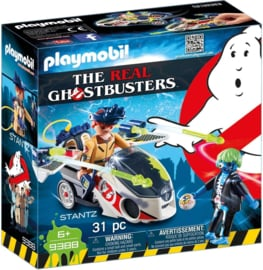 Playmobil 9388 - Ghostbusters™  Stanz met luchtmoto