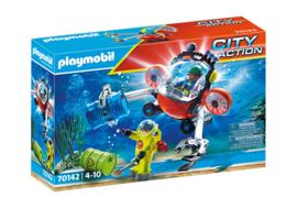 Playmobil 70142 - Milieu-Duikteam met duikboot