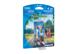 Playmobil 70561 - Playmo-friends Teenie met RC auto