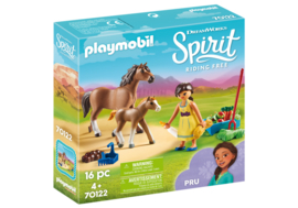 Playmobil 70122 - Pru met paard en veulen