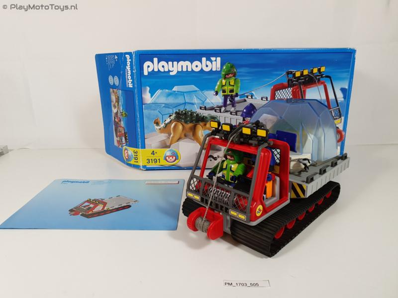 Playmobil 3191 - Dinosauriër transport met doos,  2ehands