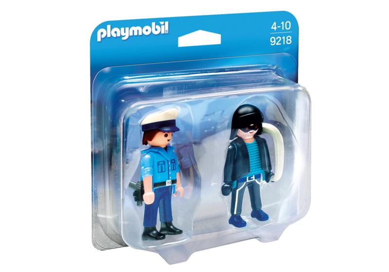 Playmobil 9218 - DuoPack Politieagent en dief