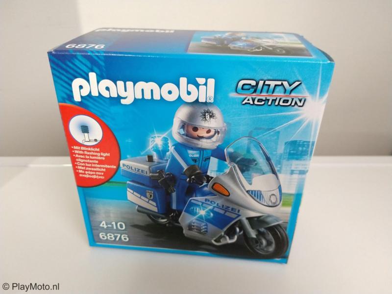Playmobil 6876 - Polizeimotor met LED-licht