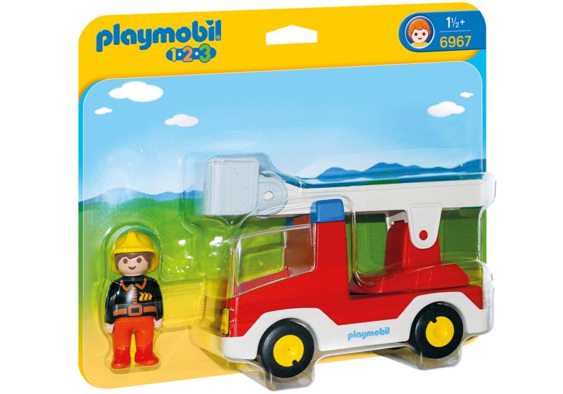 1.2.3. Playmobil 6967 - Brandweerwagen met ladder