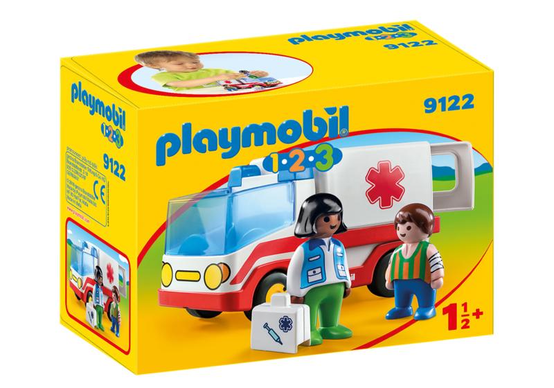 1.2.3. Playmobil 9122 - Ziekenwagen