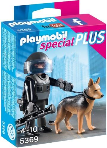 Playmobil 5369 - Speciale Politieagent met speurhond