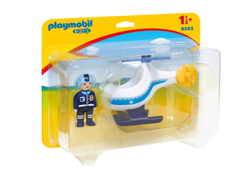 1.2.3. Playmobil 9383 - Politiehelikopter