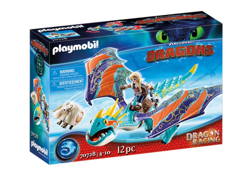 Playmobil 70728 - Dragon racing: Astrid & Stormvlieg