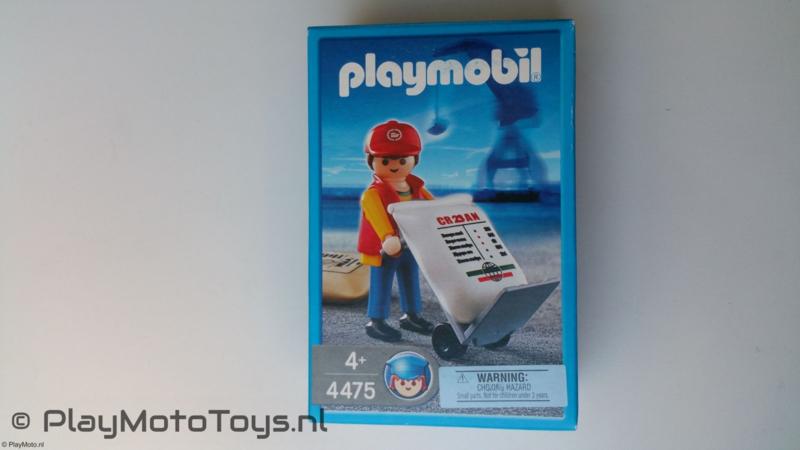 Playmobil 4475 - Havenwerker met lading