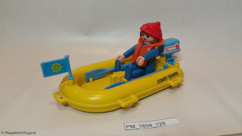Playmobil 3599 - Coast Guard Boat Dhingy, gebruikt