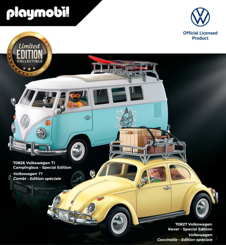 Playmobil 70826 - Volkswagen T1 Campingbus Limited Edition