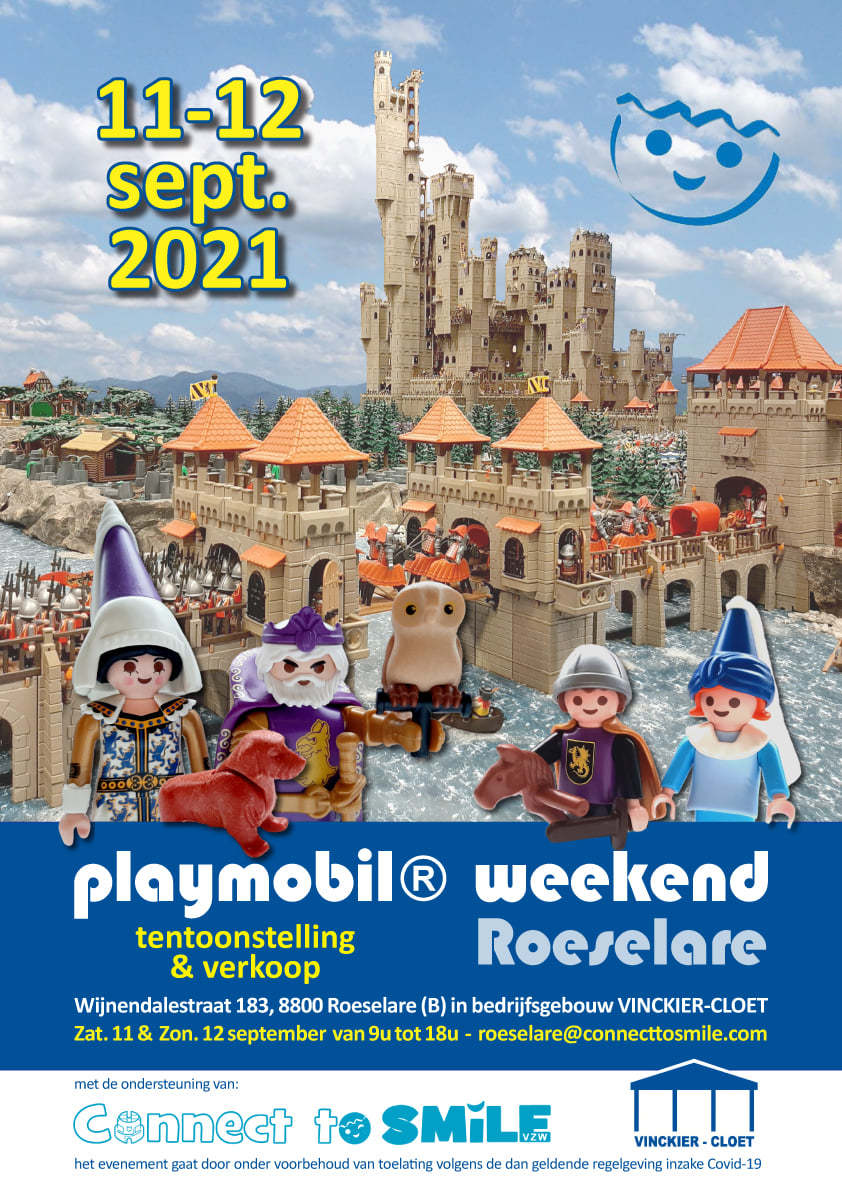 PLaymobilbeurs Connect2Smile Roeselare 2021