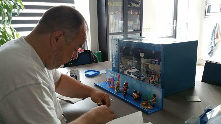 PlayMoto Bezig met een van zijn displays