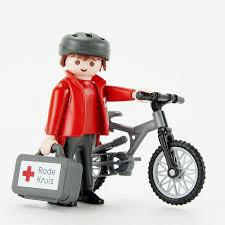 Playmobil Rode Kruis NL Fietser