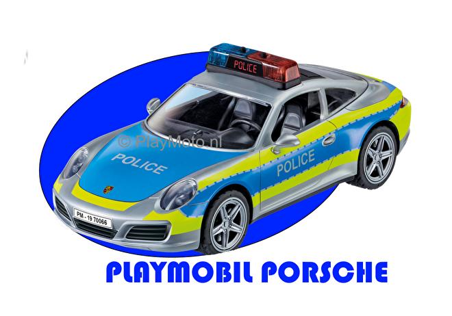 Playmobil Porsche Carrera 4S Politie