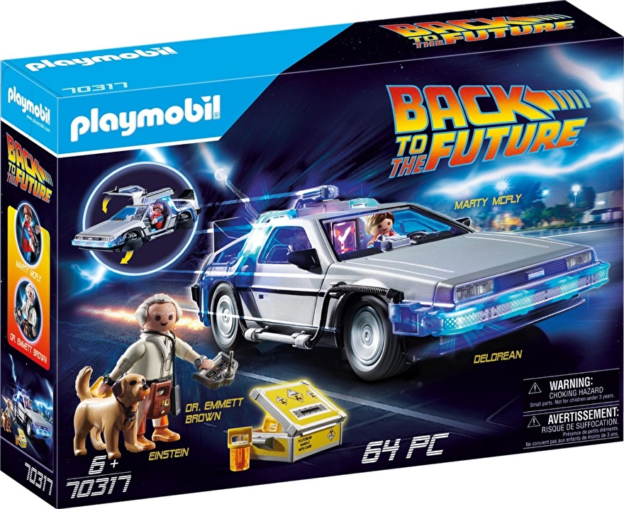 Playmobil 70317 DeLorean Back to the Future