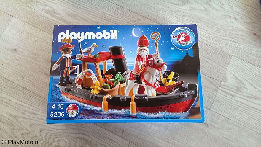 Playmobil 5206 - Stoomboot van Sinterklaas