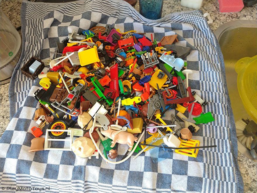 Playmobil gewassen