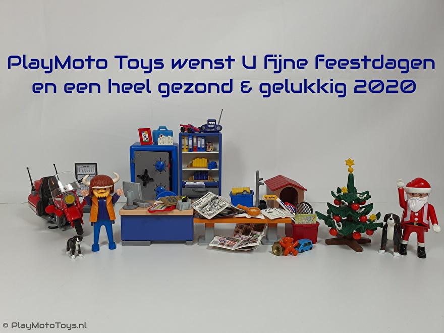 PlayMoto Toys wenst u Fijne feestdagen