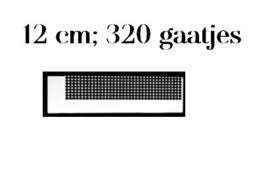 Diamond painting latje - heerser - 320 gaatjes - ronde steentjes