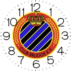 Klok Club Brugge 65 x 65 cm