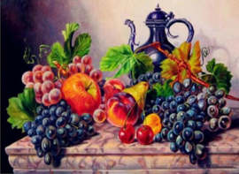 Full Diamond Painting Fruit 30 x 40 cm