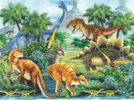 Full Diamond painting  Dinosaurussen 40 x 50 cm