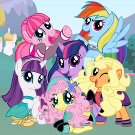 Full Diamond painting My Little Pony 25 x 25 cm